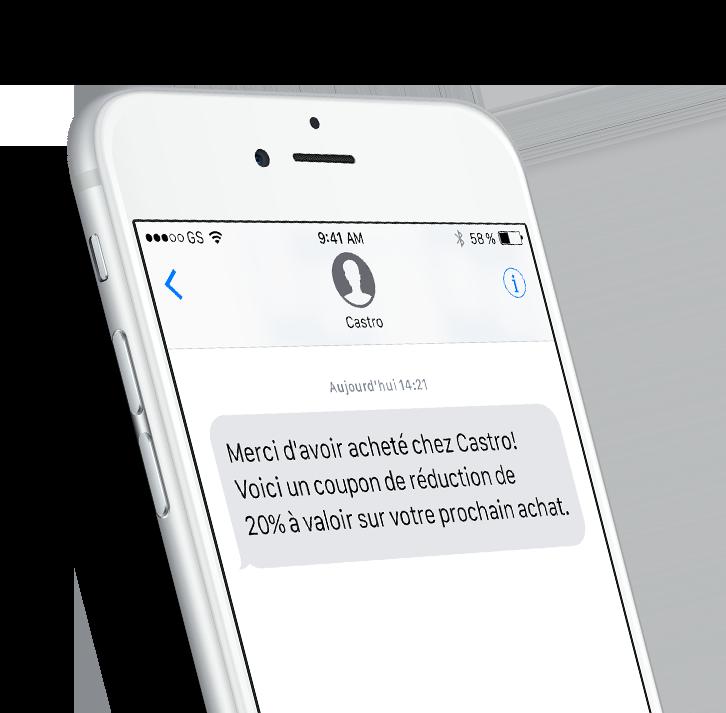 logiciel SMS